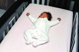 Sleeping Baby On Back